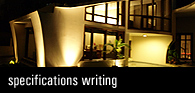 Specifications Writing